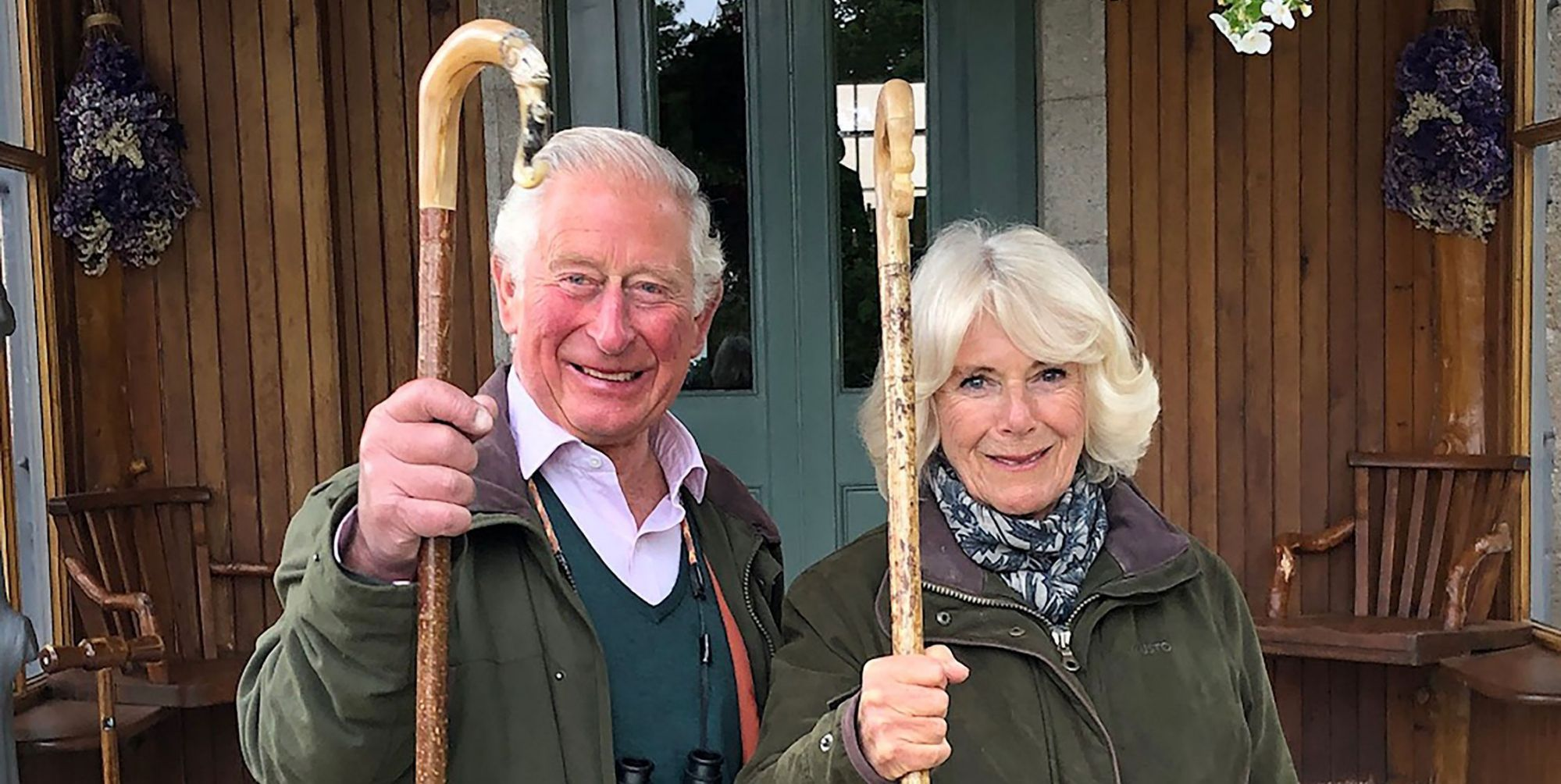 Prince Charles and Camilla release a new photo as the royals spend Christmas separately