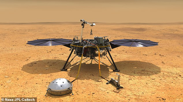 NASA's Insight Lander arrived at Mars in 2018, but its probe