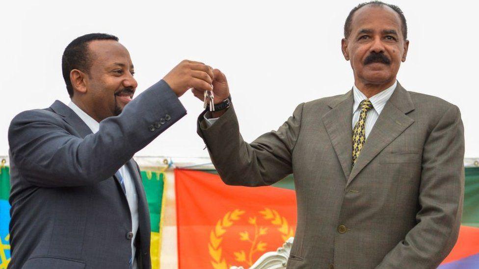 Eritrea's role in the Ethiopian conflict