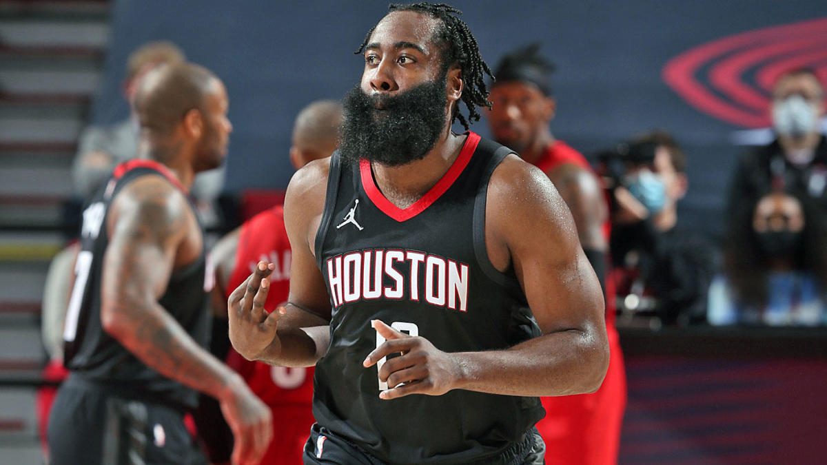 Rockets' James Harden reminds other NBA teams why they should trade with him with a resplendent 44-point appearance.