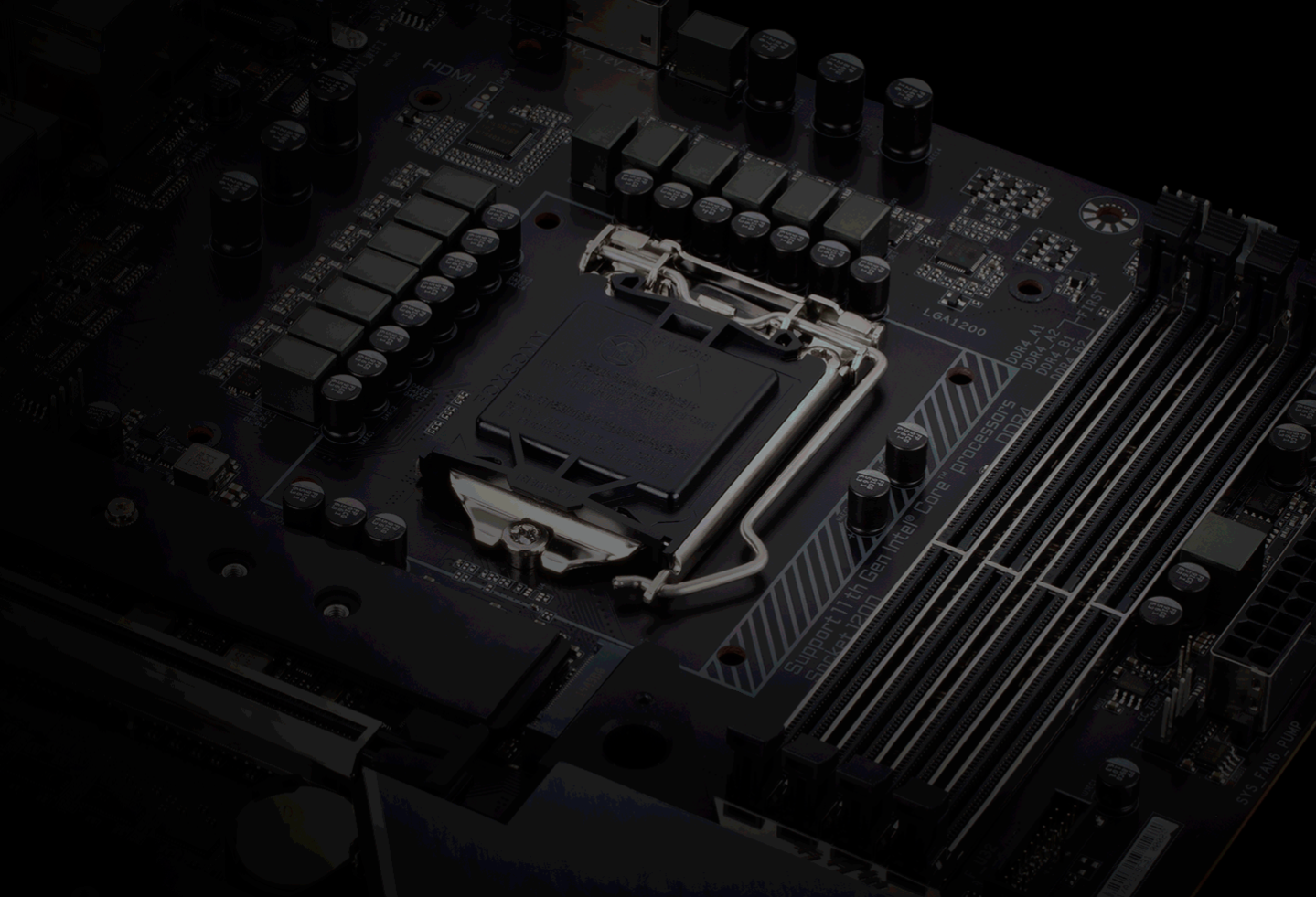 Z590 motherboards feature PCIe Gen 4.0 compatibility only with 11th Generation Intel Rocket Lake Core i9, Core i7, and Core i5 CPUs