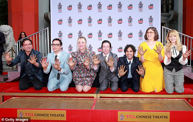 Successful Show: Bialik and Parsons worked on The Big Bang Theory from 2010 to 2019, alongside co-stars Johnny Galecki, Kaley Cuoco, Simon Hilberg, Kunal Nayyar and Melissa Rauch.