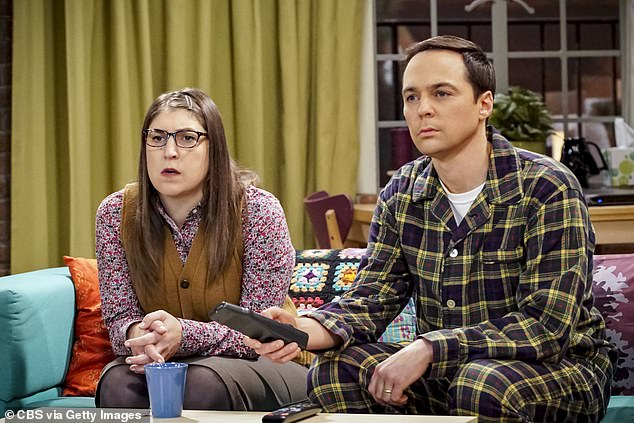 TV Couple: Bialik and Parsons acted as husband and wife Sheldon and Amy in the hit CBS comedy that ran for 11 seasons from 2010 to 2019 and are good friends in real life
