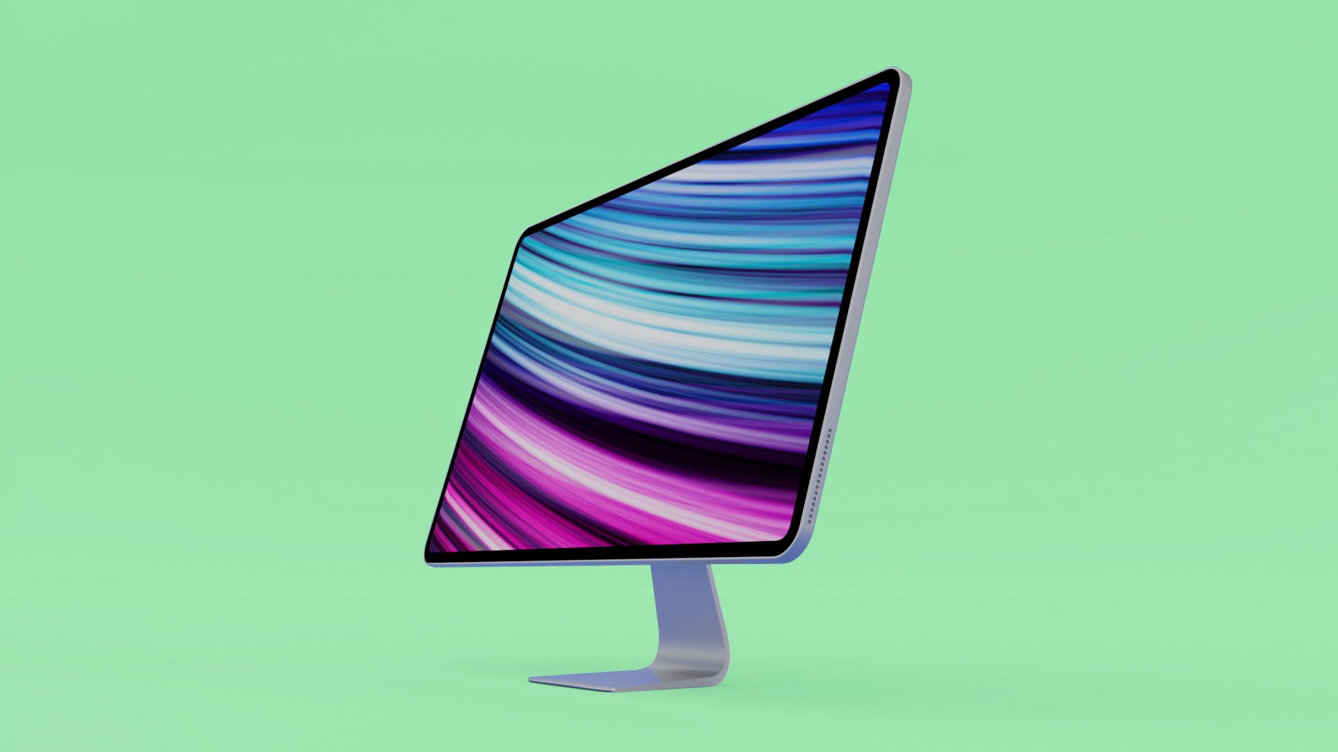 Apple develops a redesigned iMac with thinner bezels and Apple Silicon chipsets