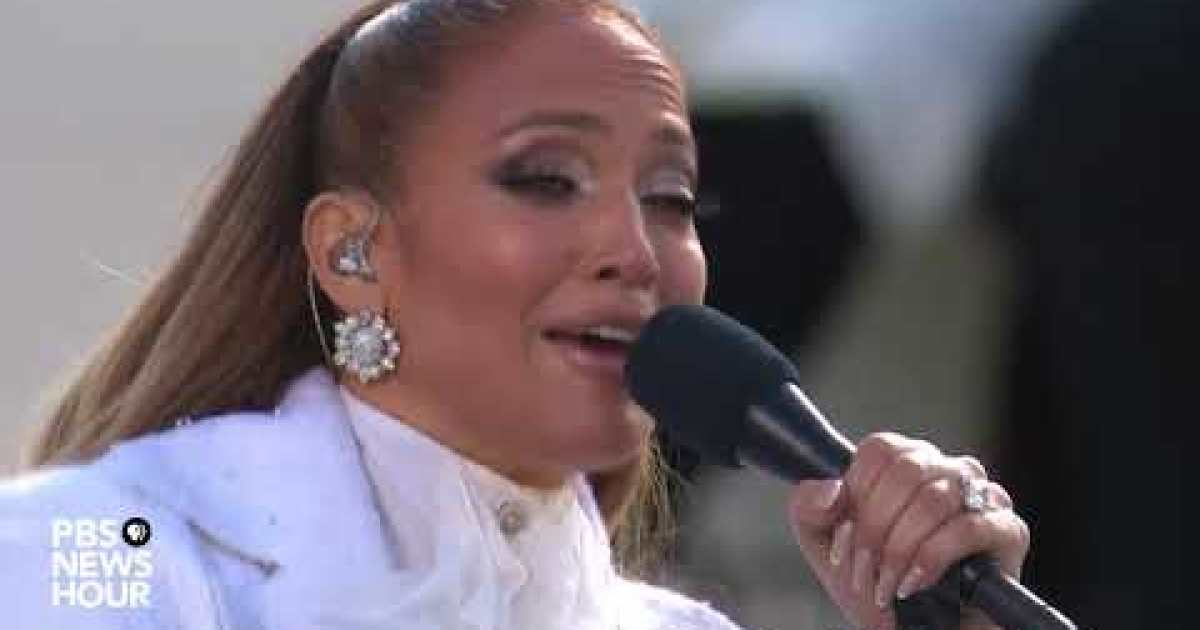 Biden Inauguration 2021: What Jennifer Lopez said in Spanish