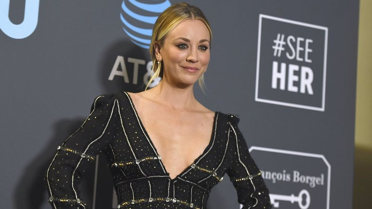 "Kaley Cuoco praises Norman dog after his death: "" severe pain in the gut """