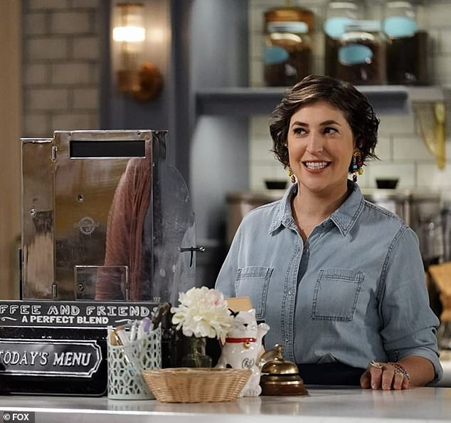 Back on TV: Mayim Bialik is starring in the new sitcom Call Me Kat produced by former Big Bang Theory star Jim Parsons who is offered the lead role