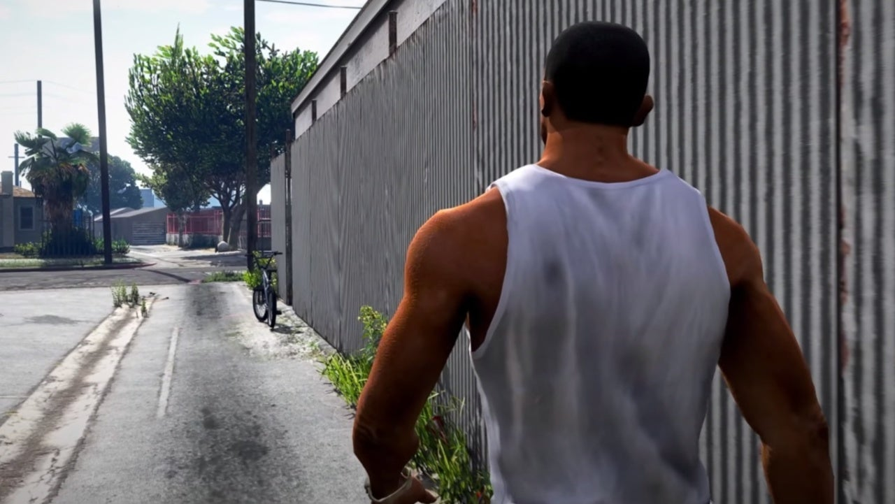 San Andreas Definitive Edition Video Remasters for PS5 game