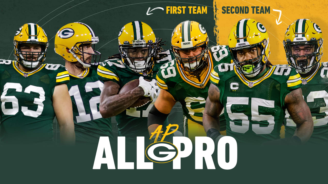 Six Packers are named to the All-Pro Team