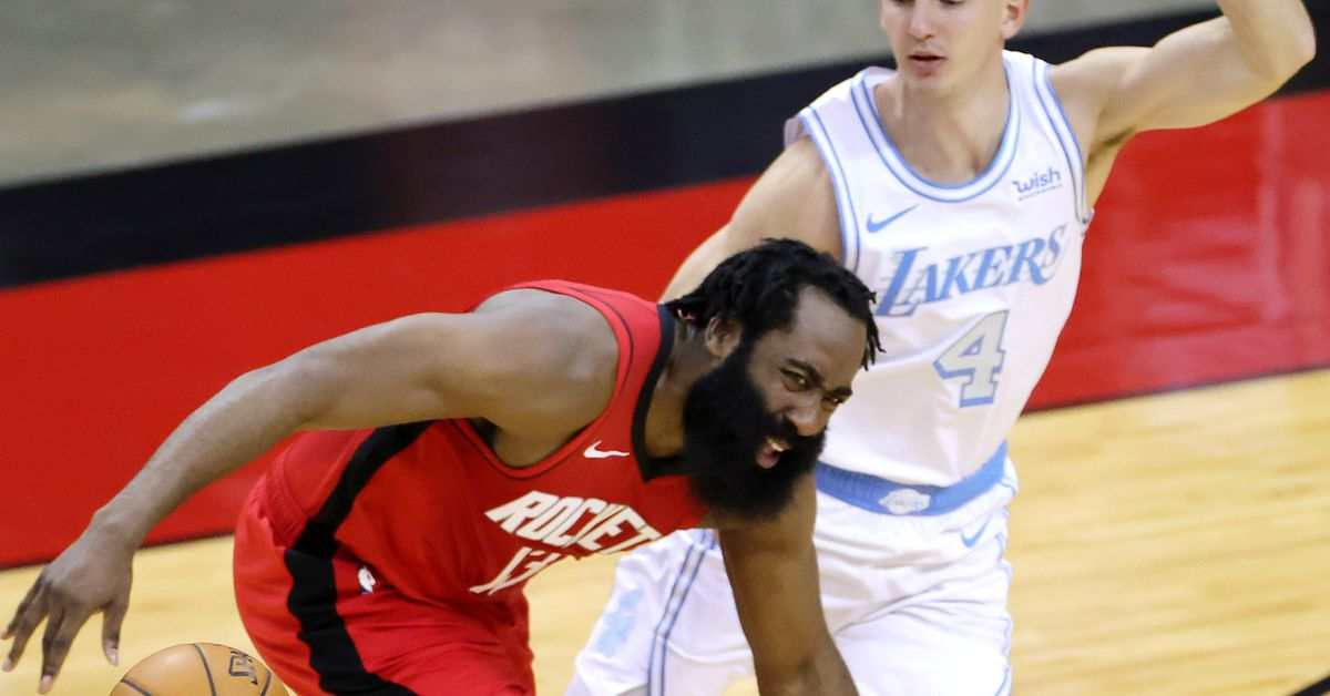 The Lakers beat the Rockets so hard that James Harden quit the team again