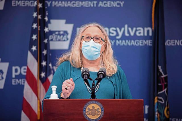 "The Secretary of Health in Pennsylvania said it was ""a misconception"" that coronavirus vaccines were still dormant"
