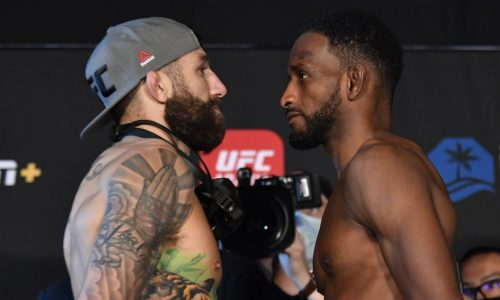 UFC Fight Island 8 Weight Results: Michael Keisa, Neil Magny, all 28 fighters successfully achieved weight
