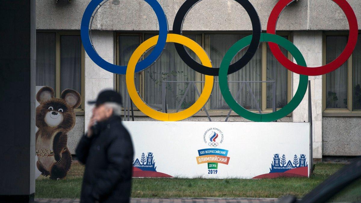 Название сборной России и согласованный флаг предстоящих Вторых Олимпийских игр – NBC Boston.