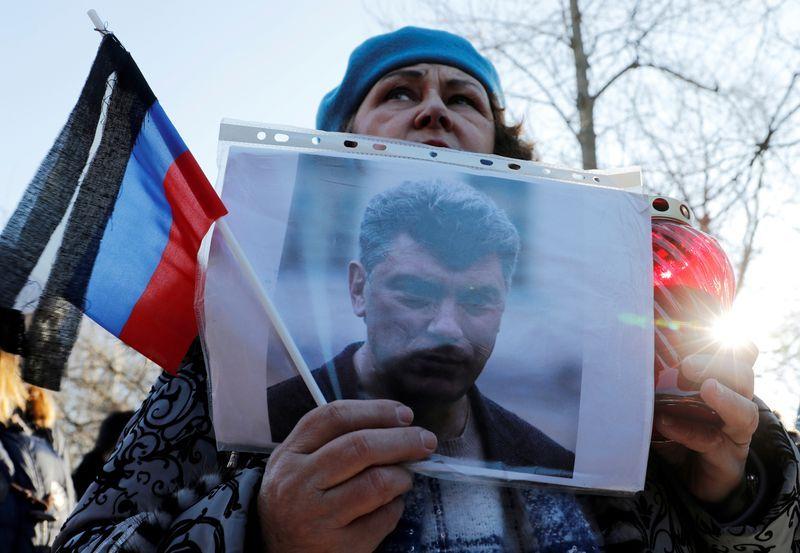 Российская оппозиция по поводу убийства Немцова, критика Кремля, на фоне репрессий Навального