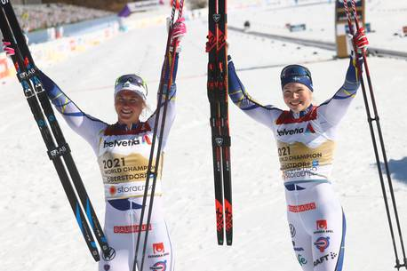 Скандинавское катание: Норвегия и Швеция выиграли золото в захватывающих командных спринтах    Спортивный