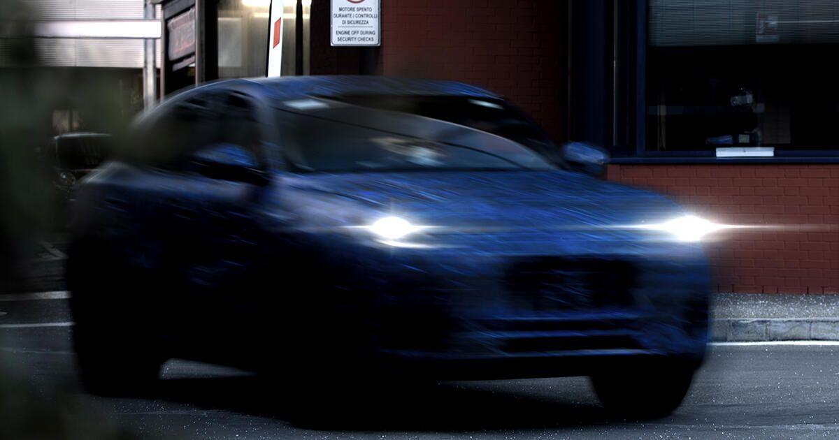Превью внедорожника Maserati Grecale в преддверии его презентации в конце этого года