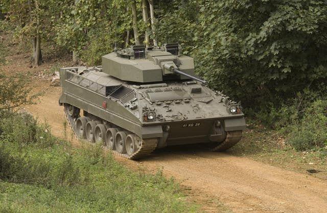 Боевая машина пехоты воин