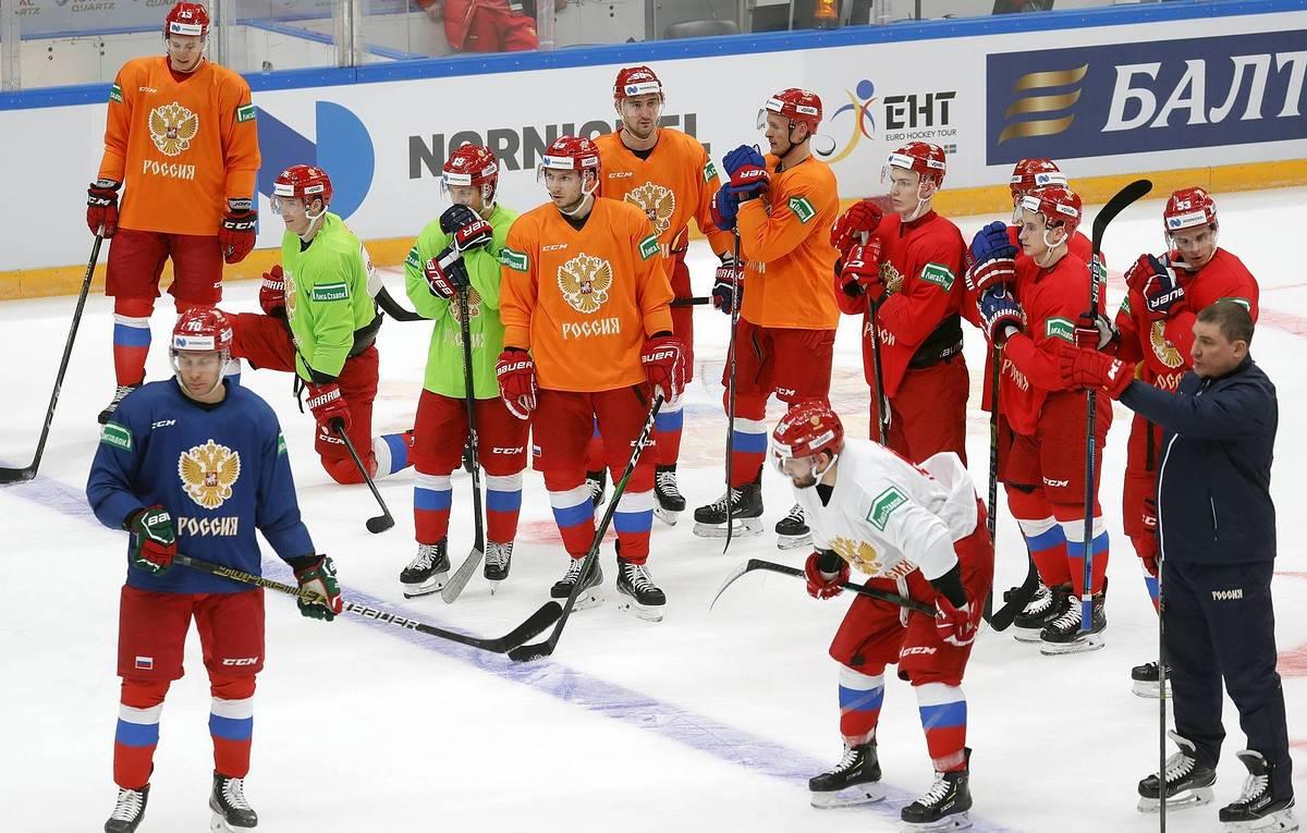 Сборная России по хоккею вылетает в цветах ОКР или ДФР на ЧМ-2021 – Спорт