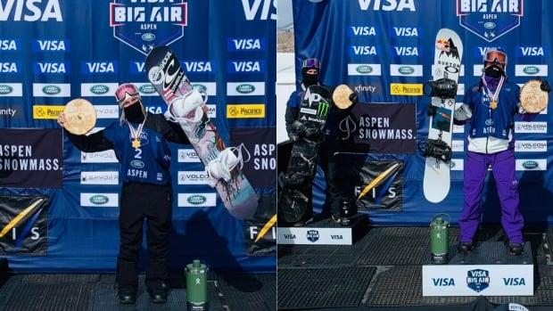 Канада завоевала два двойных золота, когда Блуин и МакМоррис выиграли титулы чемпиона мира на льду.