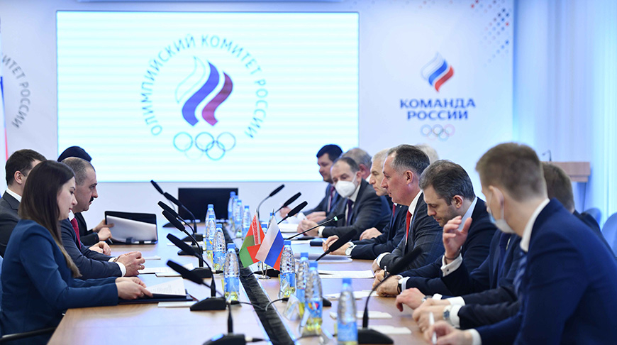 Виктор Лукашенко и российские спортивные чиновники обсудили подготовку к Олимпиаде