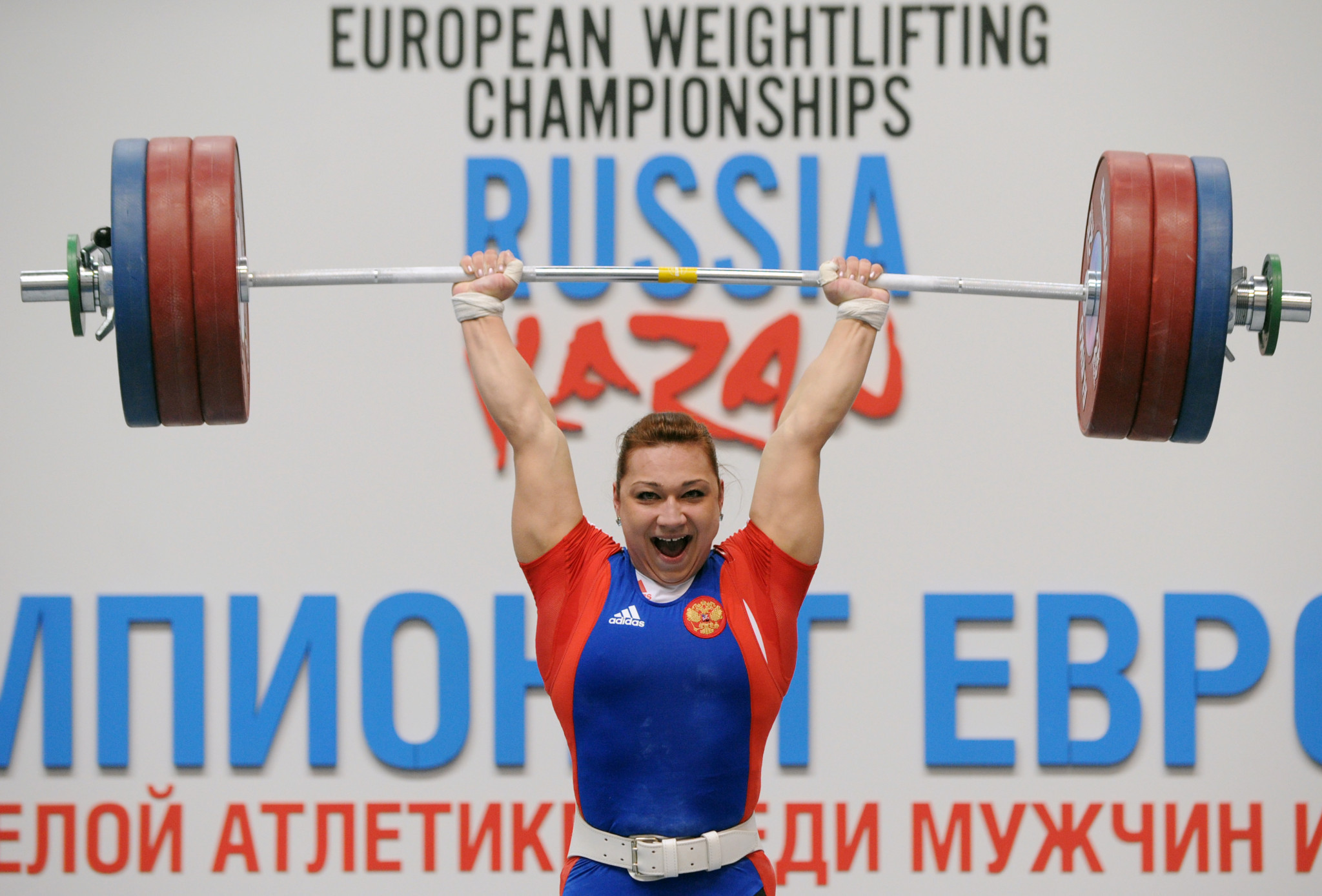 Трем российским тяжелоатлетам, включая Евстюхину, запретили употреблять допинг