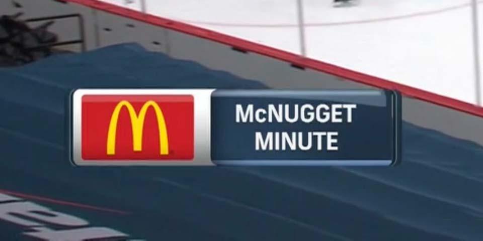 Джон Карлсон забивает первый в истории гол Макнугейт Минут от Кэпиталз