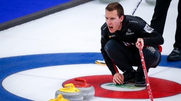 Канадцы терпят смешанные поражения от России и Швеции в мировом керлинге