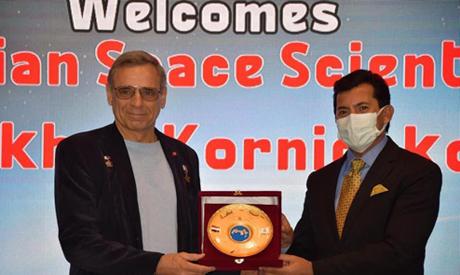 Российский космонавт Михаил Корниенко впервые посетил Египет – Огни большого города – Искусство и культура