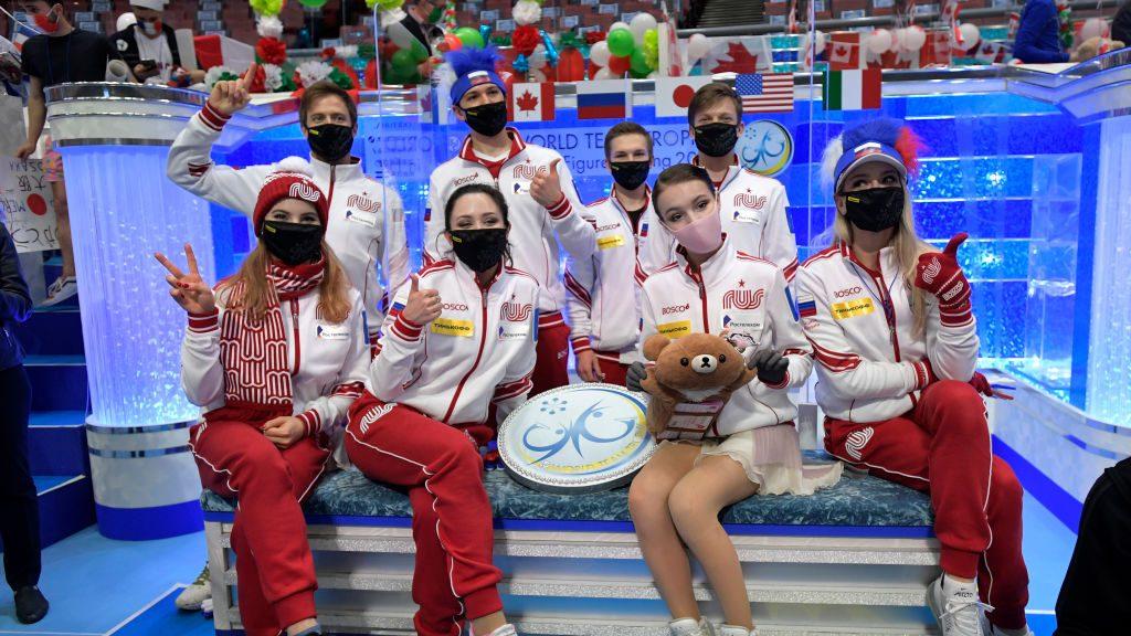 Россия одержала первую командную победу на чемпионате мира, а США заняли второе место – OlympicTalk