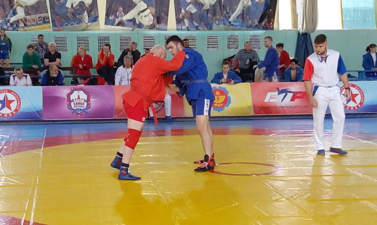 Чемпионат России по самбо среди слабослышащих, который прошел в Зеленограде