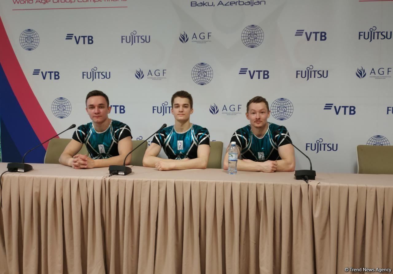 Баку проводит шестнадцатый чемпионат мира по аэробной гимнастике на высшем уровне