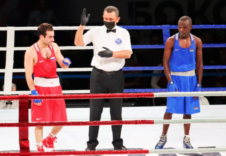 Кениец Ник Окот и Эли Аджой покидают чемпионат России по боксу: The Standard Sport