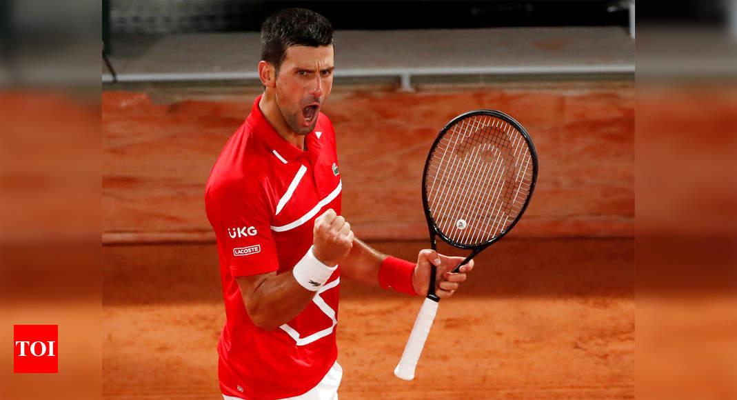 Новаку Джоковичу нужно повысить свою игру на Открытом чемпионате Франции по теннису    Новости тенниса