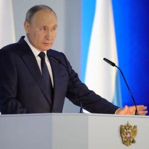 Путин принял закон о выходе России из Договора по открытому небу