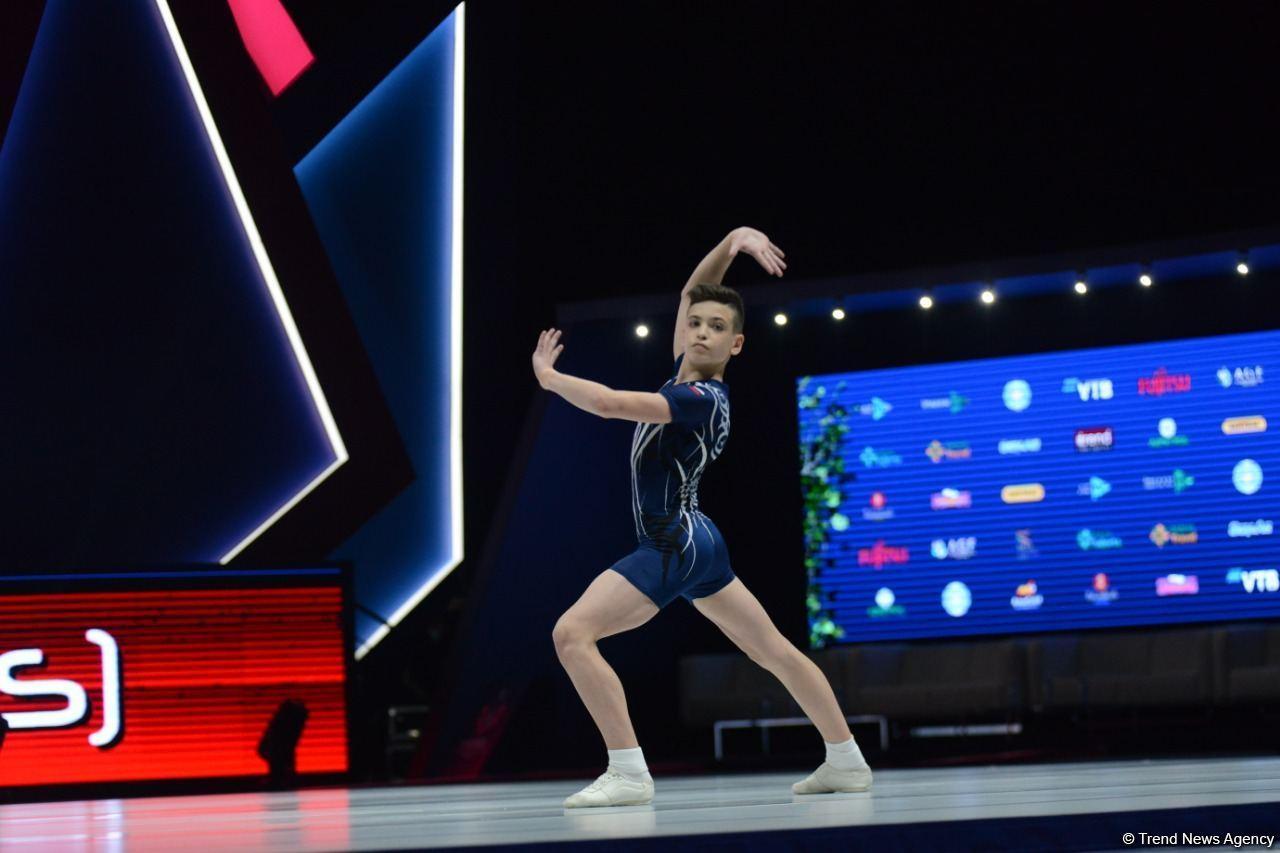 Российская спортсменка завоевала золотую медаль на Всемирных соревнованиях по аэробной гимнастике в возрастной группе в Баку