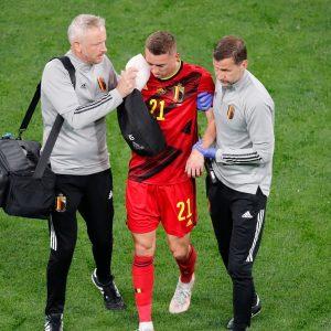 Евро-2020: бельгийская Кастания получила двойной перелом глазницы |  новости футбола