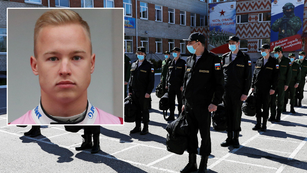 Пилот Формулы-1 Никита Мазепин: гоночная карьера Хааса может быть остановлена из-за апелляции российской армии, говорит его отец – RT Sport News