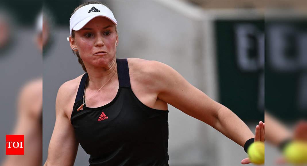 Соперница Серены Уильямс Елена Рыбакина преуспела в Открытом чемпионате Франции по теннису после пересечения границы |  новости тенниса
