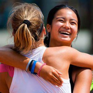 Теннис: Алекс Айяла, российский партнер, выступающий на финале French Open среди юниоров