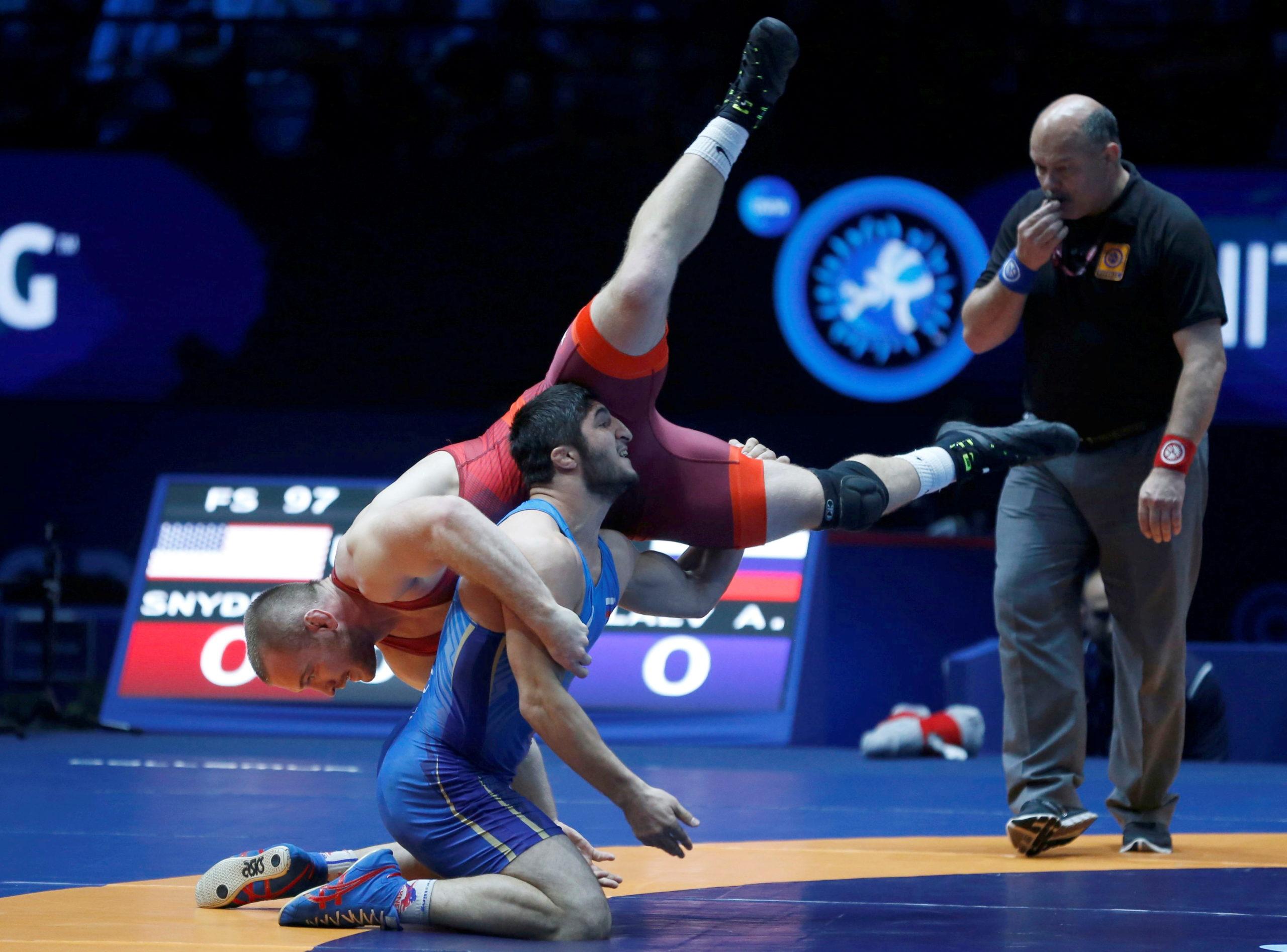 Борьба на Олимпийских играх: древние спортивные битвы, чтобы оставаться актуальными