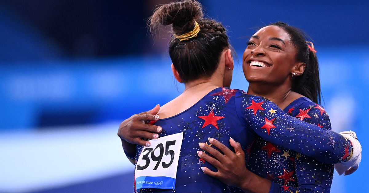 Гимнастика – США лидируют россиянок, а Китай в медальных состояниях