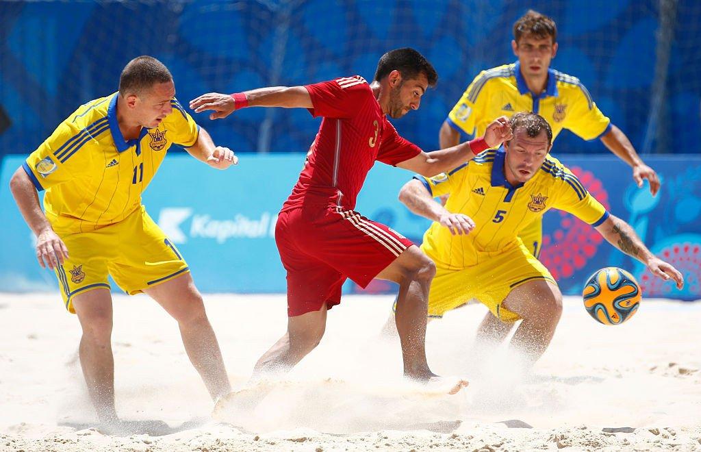 Украина отказалась от участия в чемпионате мира по пляжному футболу в Москве