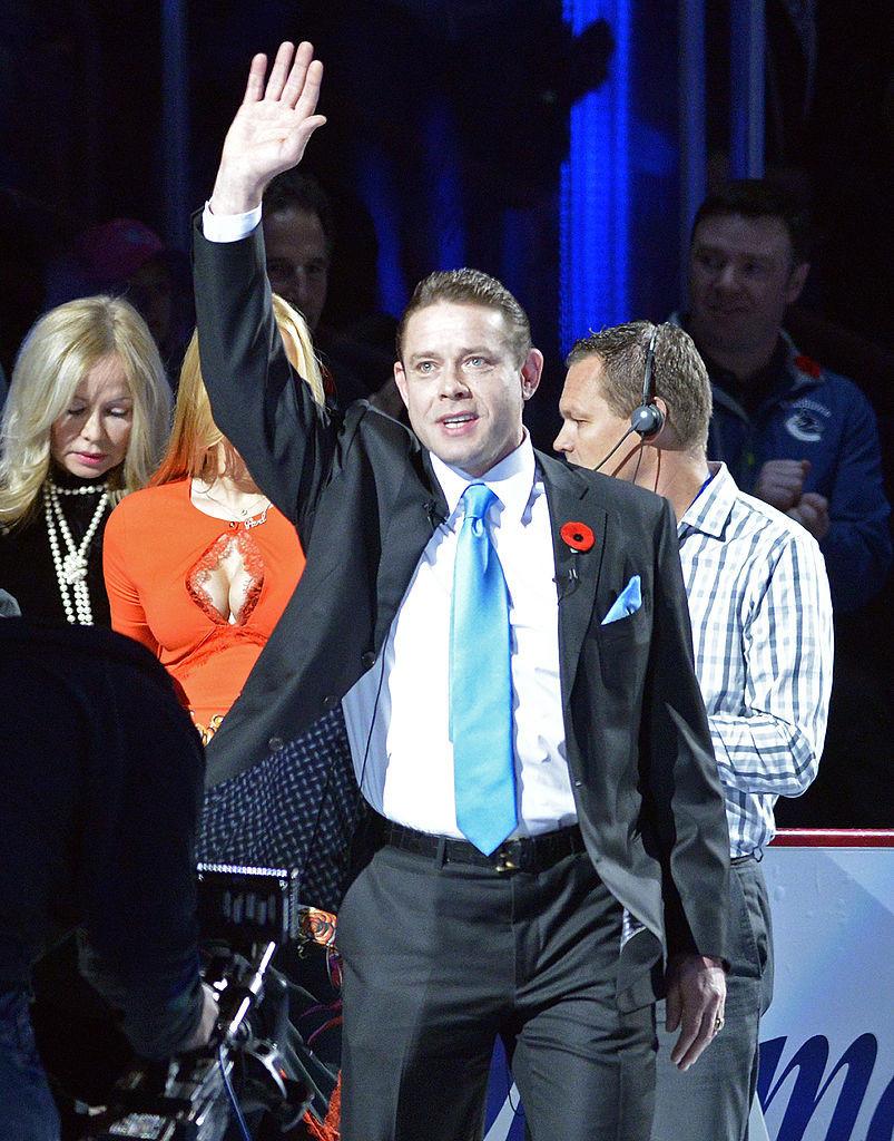 50-летний двукратный призер Олимпийских игр Павел Буре надеется занять место в доске ИИХФ © Getty Images