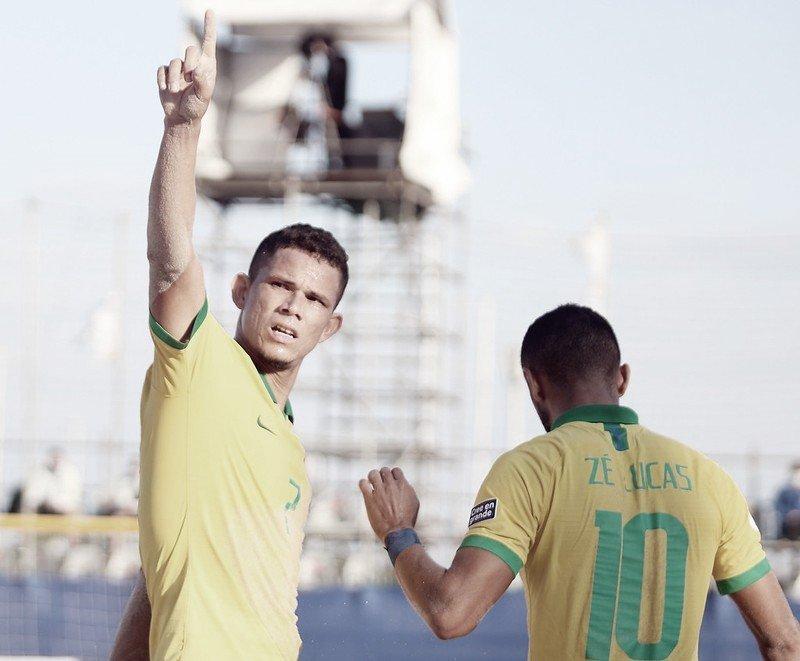 Бразилия – Беларусь текущий результат Чемпионат мира по пляжному футболу (5: 0) |  24.08.2021