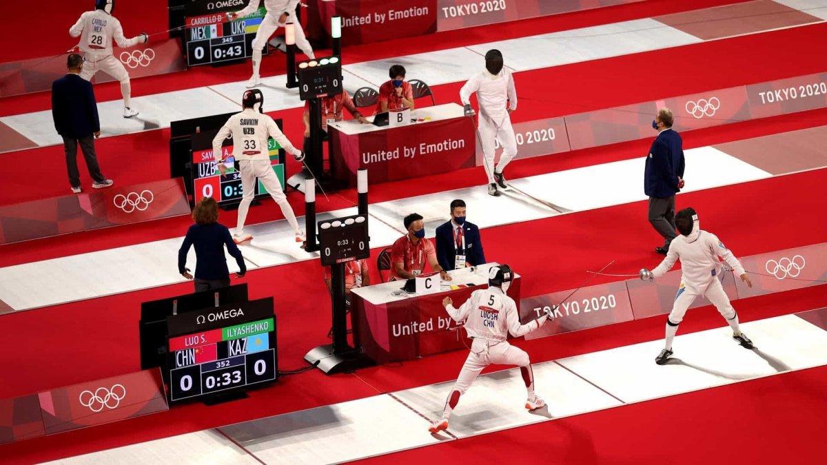 Немецкие, британские и российские спортсмены лидируют в раннем современном пятиборье – NBC Chicago