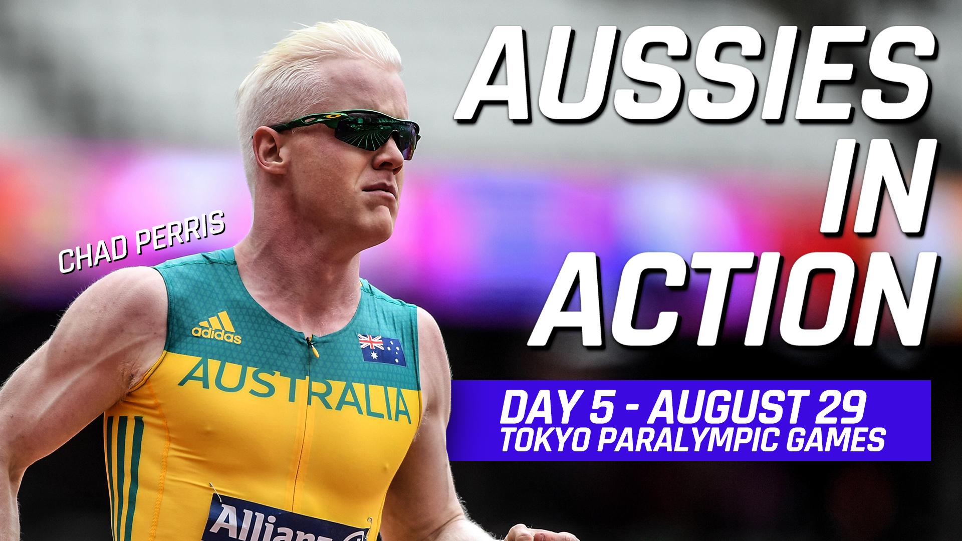 Результаты Австралии на Паралимпийских играх в Токио, день 5, Австралия в действии:
