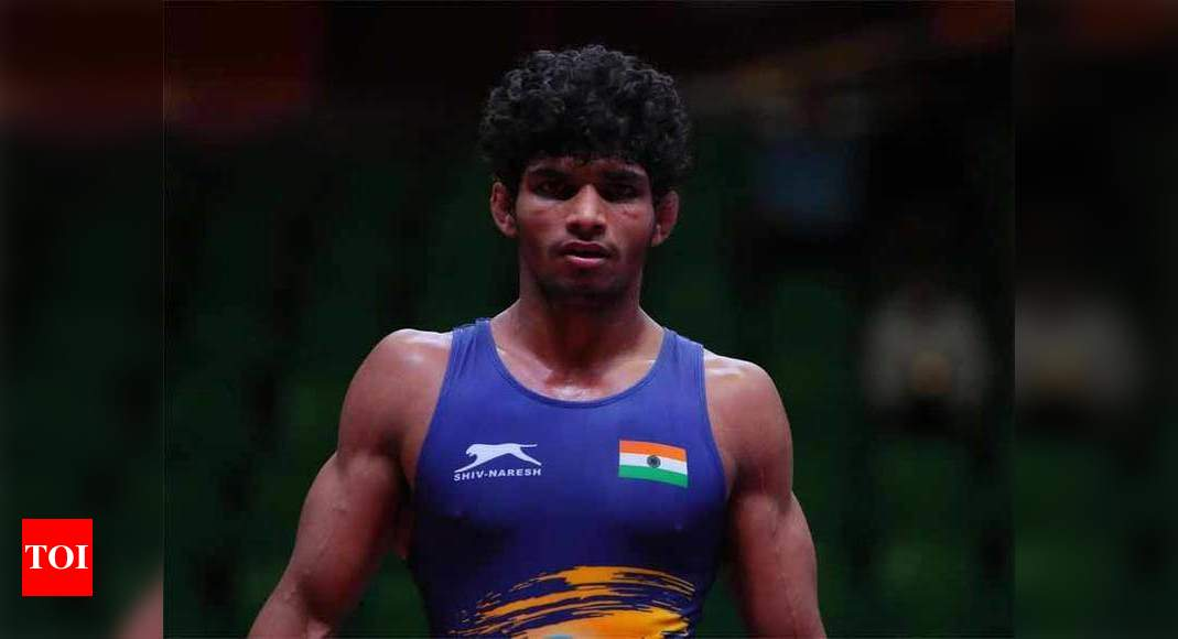Чемпионат мира по борьбе среди юниоров: серебро для Ravinder;  Яш, Патель, Анируд забирают бронзу    Больше спортивных новостей