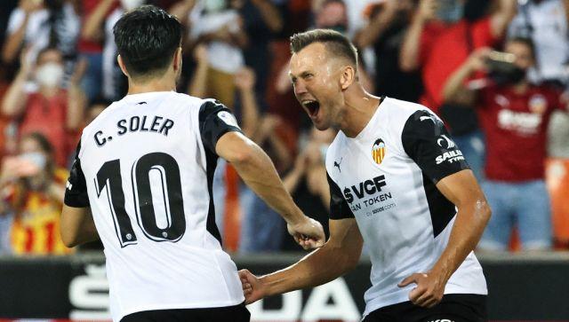 Валенсия забила красную карточку на третьей минуте и обыграла Хетафе в первом сезоне, Sports News, First Post