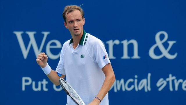 Даниил Медведев выходит в четвертьфинал.  Наоми Осака вышла из первого поста спортивных новостей Джилл Тишман