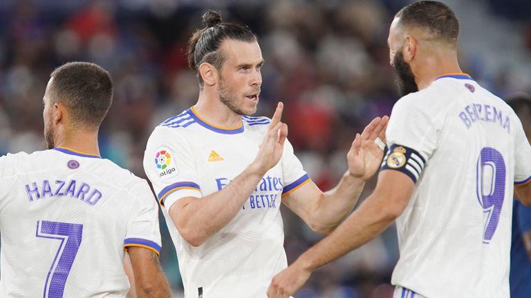 Бэйл стартовал и на выходных забил вничью 3: 3 Реал Мадрид с Леванте.